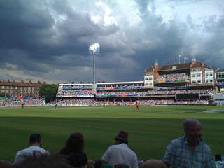 Before the rain - World T20 Cup: England v Wes...